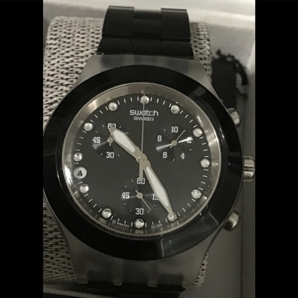 Swatch Other - Swatch Watch Full Blooded Night SVCK4035AG